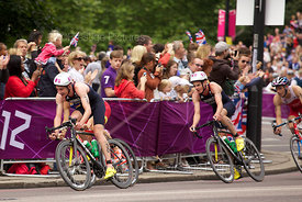 "The Cycling Stage of the Men""s Triathlon in the London Olympics 2012"