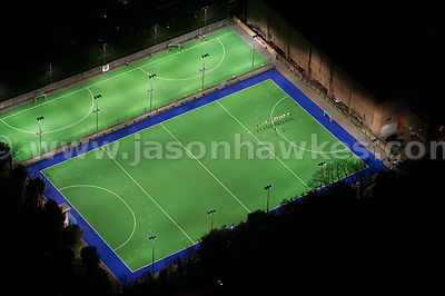 Aerial view of Bisham Abbey National Sports Centre, Marlow