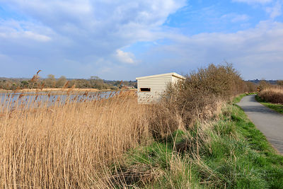 Bird watching hide, Teifi Marshes