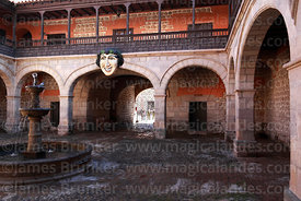 Main courtyard of Casa de la Moneda / Royal Mint, Potosí, Bolivia