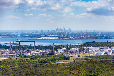 Kurnell Oil Refinery to Sydney