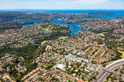 Cammeray to Middle Harbour