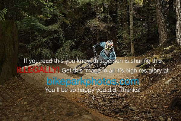 Friday October 5th Lower BLine bike park photos