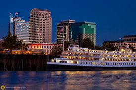 Delta King and the Sacramento Skyline #9