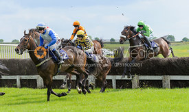 CARLTON RYAN (Harry Bannister) - Race 6 Restricted - Meynell and South Staffs Point to Point 2014