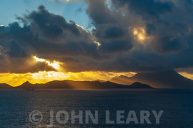Sunset at St Kitts.