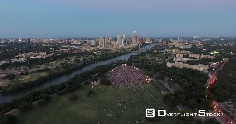 Austin City Limits Music Festival Downtown Austin Texas USA
