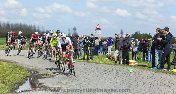 The Peloton - Paris Roubaix 2016