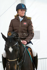 Competitor at the British Open Show Jumping Championships 2010