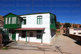 Manager's house in historic mining town of Pulacayo, Potosi Department, Bolivia