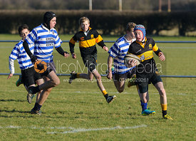 Oakham Rugby Club's U14A XV vs. Skegness