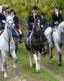Emma Brown near Gartree Covert - Quorn Hunt Opening Meet 2016
