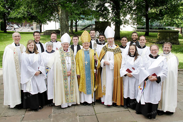 Blackburn Diocese - Ordinations Deacons 01.07.17 photos