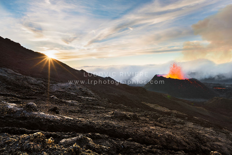 Eruption fournaise 2015