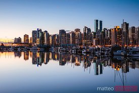 Skyline, Coal harbour, Vancouver, Canada