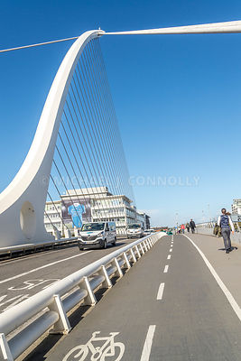 Samuel Becket Bridge, Roadway (Vertical)- Dublin, Ireland