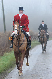 Chris Edwards - The Cottesmore Hunt at Stone Lodge 13/12