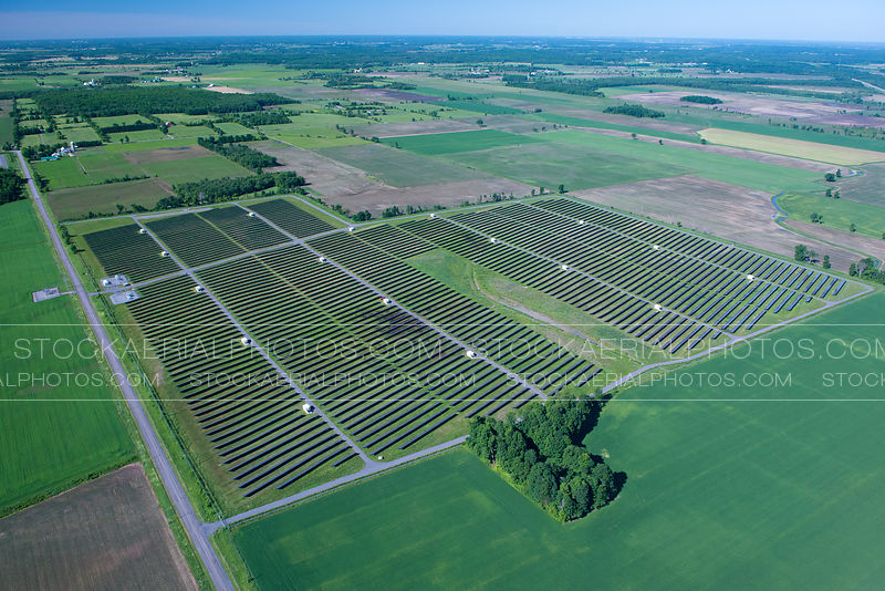 Solar Power Plant, Ontario