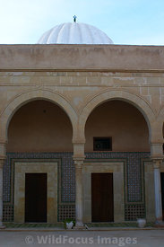 Part of the Zaouia of Sidi Sahab, also known as the Mosque of the Barber. Kairouan, Tunisia; Portrait