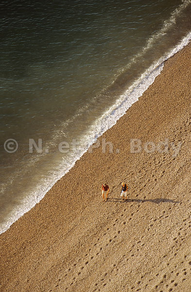 FRANCE, NORMANDIE, PLAGE D'ETRETAT//FRANCE, NORMANDY, BEACH OF ETRETAT