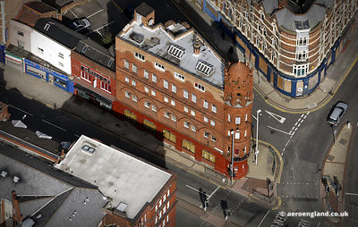 aerial photograph of 1–7 Constitution Hill, Birmingham England UK