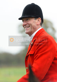 Major Tim Brown at the meet at Oak House