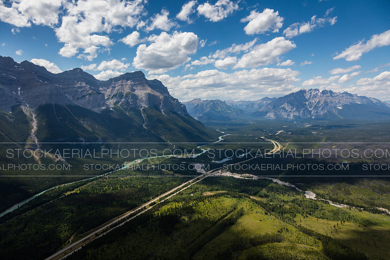 TransCanada Highway through Banff National Park