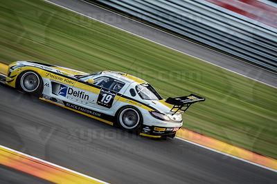 19 Andrii Lebed / Afanasiev / Simonsen / Castellacc Black Falcon Mercedes SLS AMG GT3