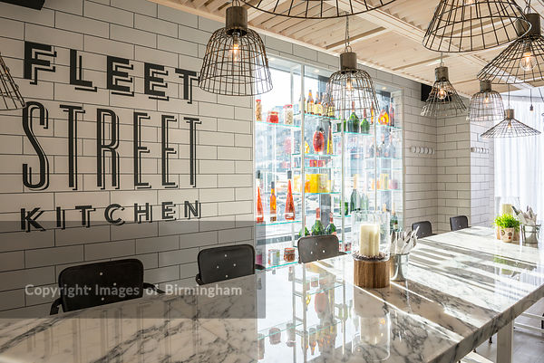 Fleet Street Kitchen restaurant, Birmingham.