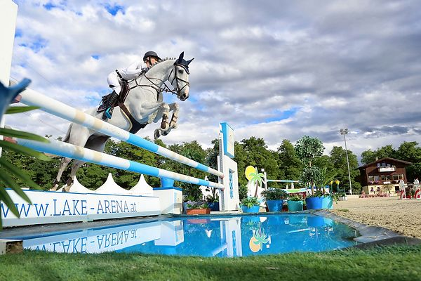NAGEL-TORNAU Sarah (GER) and BARBOU DE RUET during LAKE ARENA - The Summer Circuit I, CSI2*, Big Tour - 145 cm, 2017 June 29 - Wiener Neustadt, Austria  (Photo: www.isportphoto.com / Mariann Marko)