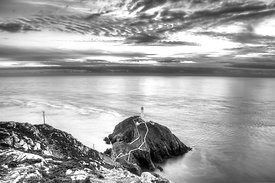South Stack Lighthouse (Mono)