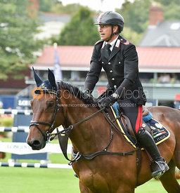 Bruno Chimirri and TOWER MOUCHE - FEI Nations Cup, Dublin Horse Show 2017