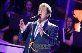 Michael Ball and Alfie Boe at the Bournemouth International Centre