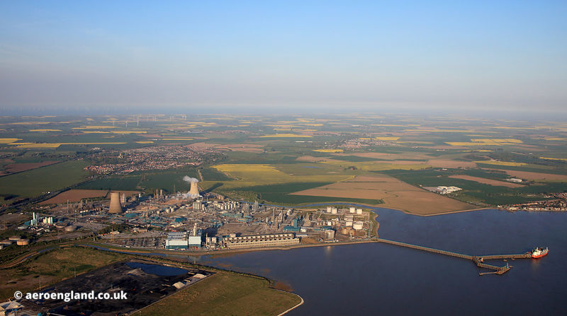 BP Chemical refinery aka Saltend Chemicals Park Hull