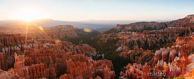 Panoramic of Bryce Canyon National Park, USA