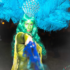 performance art photography from  Art All Night (Nuit Blanche) DC 2014