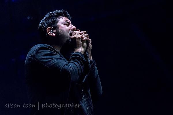 Chino Moreno, vocals, Deftones