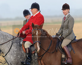 Quorn Huntsman Peter Collins and Gems McCormick