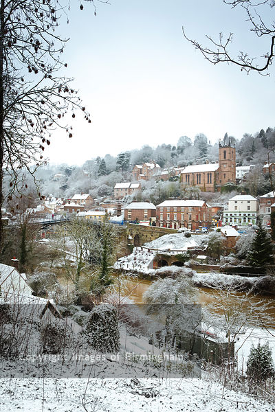 The Iron Bridge, Ironbridge, Telford, Shropshire. Birthplace of the Industrial Revolution.
