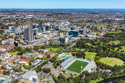 Parramatta Park and CBD