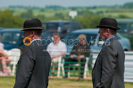 Messrs Townsend and McColgan, Judges, Blaston Hound Show 2010