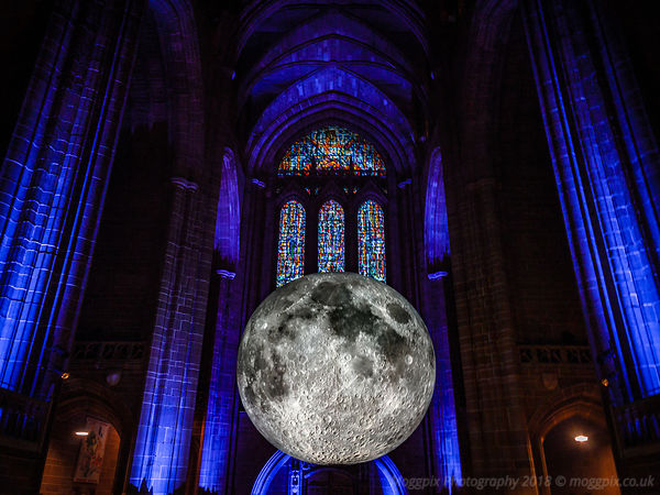 Museum of the Moon: Liverpool Cathedral
