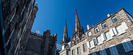 Cathedral spires, Clermont Ferrand