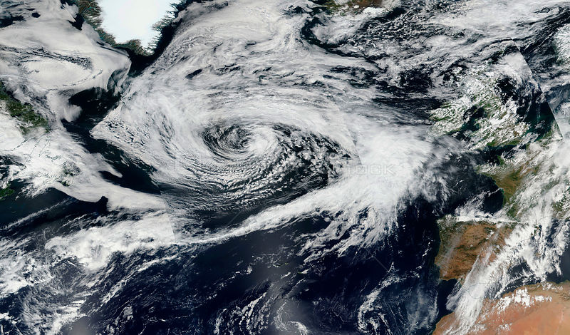 Huge Atlantic Storm set to Ruin British Summer