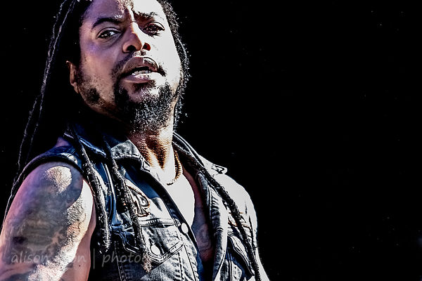 Lajon Witherspoon,, vocals, Sevendust