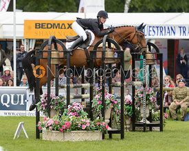 Alicia Hawker and CHARLES RR - Bramham International Horse Trials, June 2017