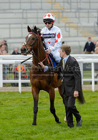 Ben Hobday and AZARI - Champions Willberry Charity Flat Race - Cheltenham Racecourse, April 20th 2017