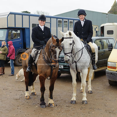 The Cottesmore Hunt at Glaston 17/2 photos