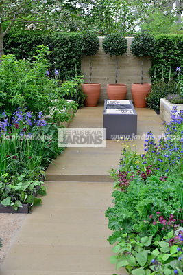 La phototh que les plus beaux jardins tige the for Jardin urbain contemporain