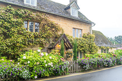 House & Garden- Bourton On The Water, England